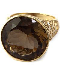 Effy - Smoky Quartz Ring In 14k Rose Gold - Lyst