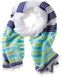 Banana Republic Sarah Scarf Multi Stripe - Lyst