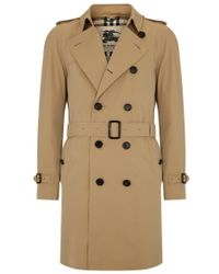 Burberry London The Wiltshire Long Heritage Trench Coat - Lyst