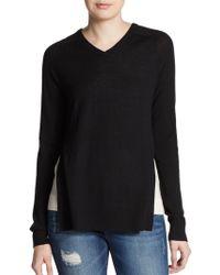 Tibi Layered Merino Wool Sweater - Lyst