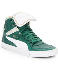 Alexander McQueen x Puma Street Climb Iii Leather Sneakers - Lyst