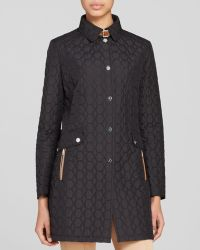 Basler - Coat - Geo Quilted - Lyst
