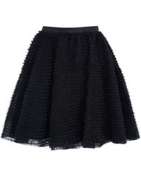 RED Valentino Tulle Skirt - Lyst