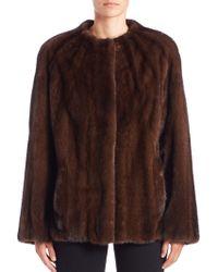 Bibhu Mohapatra | Mink Fur Jacket | Lyst