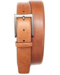 Trafalgar - 'troy' Leather Belt - Lyst