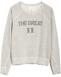 The Great | Number Varsity Sweatshirt | Lyst
