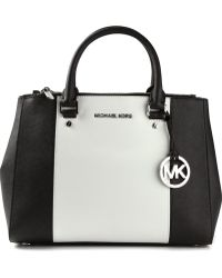 Michael by Michael Kors Medium Sutton Colour Block Tote - Lyst