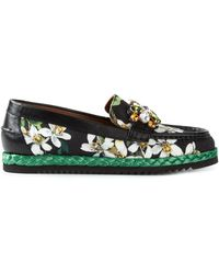 Dolce & Gabbana 'Palermo' Loafers - Lyst