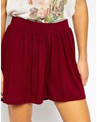 Asos Culotte Shorts - Lyst
