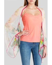 Ted Baker Cholum Wispy Meadow Cape Scarf - Lyst