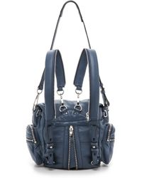 Alexander Wang - Mini Marti Backpack - Steel - Lyst