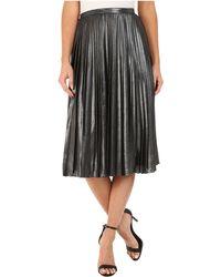 Ted Baker | Zainea Metallic Pleated Midi Skirt | Lyst