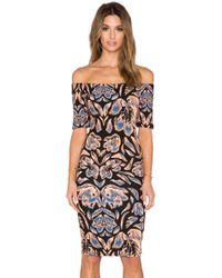 T-bags | Off The Shoulder Bodycon Dress | Lyst