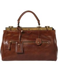 The Bridge - Hand-Painted Leather Doctor Bag - Lyst