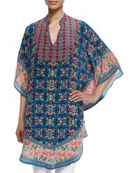 Tolani Belle Printed Long Tunic - Lyst