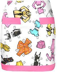 Moschino Mini Skirt - Lyst