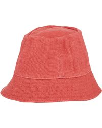 Barneys New York Cloche Hat pink - Lyst