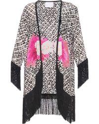 Athena Procopiou | Hendrix Girl Fringed Silk Kimono | Lyst