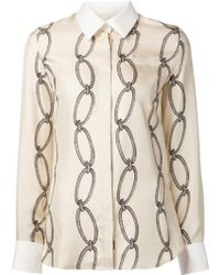 Altuzarra Chain Link Print Shirt - Lyst