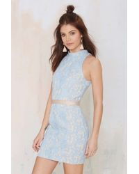 Nasty Gal Daniella Lace Dress - Lyst