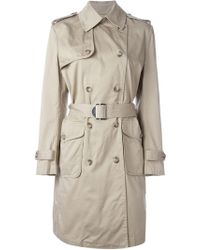 DIESEL - 'g-jane' Trench Coat - Lyst