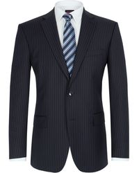 Pierre Cardin Stripe Single Breasted Suit Jacket - Lyst