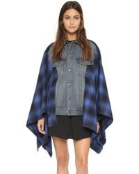 Thakoon Addition - Vested Cape - Blue - Lyst