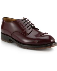 Valentino Derby Lace-Up Shoes - Lyst