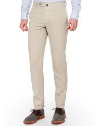 Slowear Incotex Slim Fit Chinolino Pants - Lyst