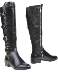 Michael by Michael Kors Black Boots - Lyst