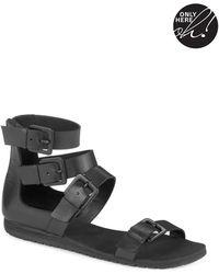 424 Fifth - Zain Gladiator Sandals - Lyst