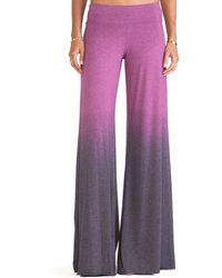 Saint Grace Purple Wide Pant - Lyst