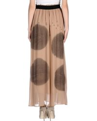 Nude   Long Skirt   Lyst
