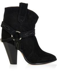 Isabel Marant Étoile Rawson Suede Ankle Boots - Lyst
