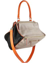 Givenchy Pandora Medium Multicolor Shoulder Bag gray - Lyst