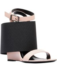 Balenciaga Prism High Sandals black - Lyst