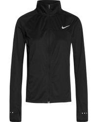 Nike - Shield 2.0 Dri-fit Stretch-jersey Jacket - Lyst