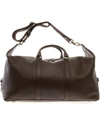 Mulberry Clipper Leather Weekend Bag - Lyst