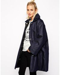 Cheap Monday Padded Coat - Lyst