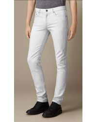 Burberry Ash-Wash Slim Fit Jeans - Lyst