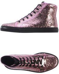 Gucci Pink High-tops  Trainers - Lyst