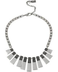 Kenneth Cole - City Scape Geo Stick Necklace - Lyst