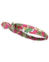 Topshop Tropical Print Headband multicolor - Lyst