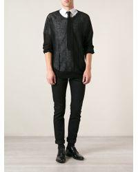 Saint Laurent Black Skinny Jeans - Lyst