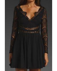 Keepsake Paradise Stars Dress black - Lyst