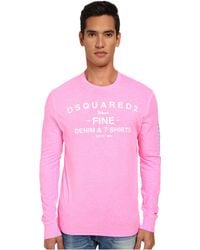 DSquared2 L/S New Surf Fit Tee - Lyst