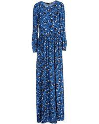 Love Moschino Long Dress - Lyst