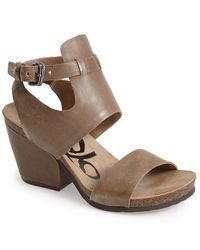 Otbt 'Lee' Leather Sandal - Lyst
