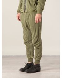 Haider Ackermann Drop Crotch Sweat Pants - Lyst