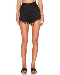 UNIF - Jeda High Rise Short - Lyst